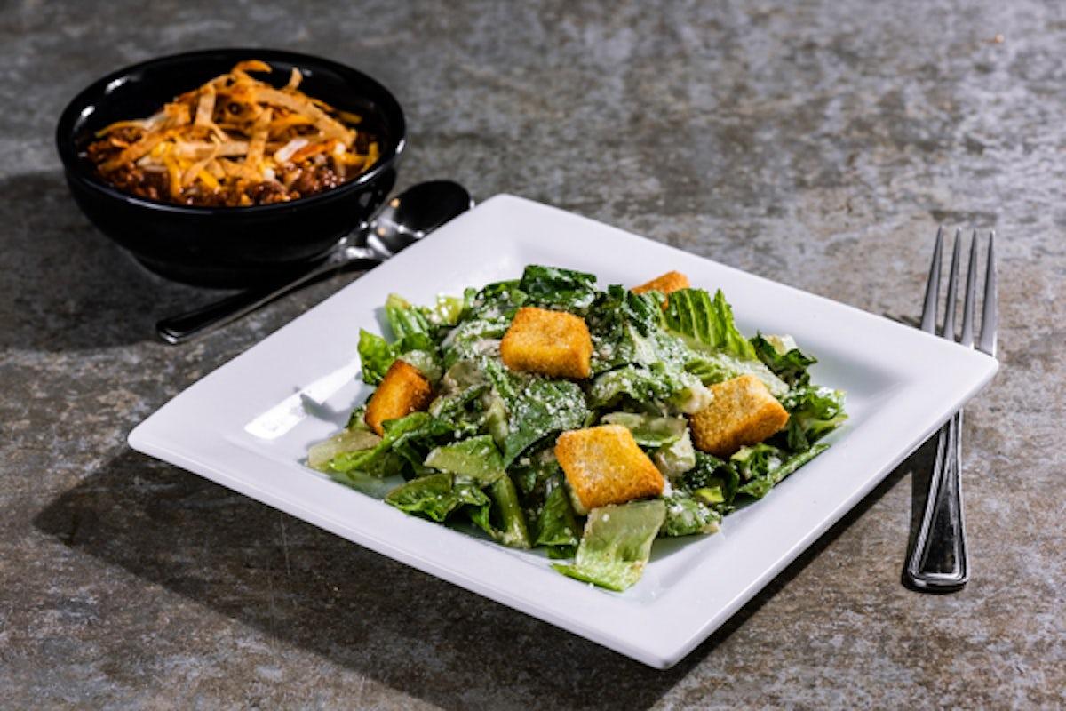 Chili & Caesar Salad
