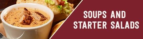 Soups & Starter Salads
