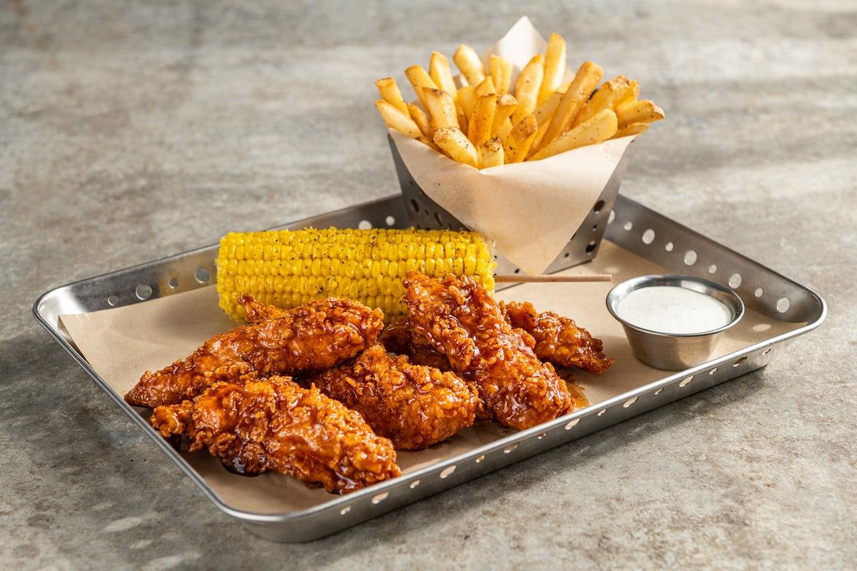 Crispy Honey-Chipotle Chicken Crispers®