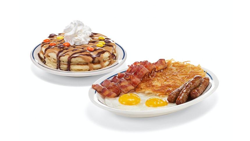 Seasonal Pancake Combo Image
