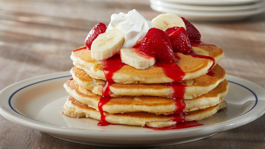 Strawberry Banana Pancakes Image