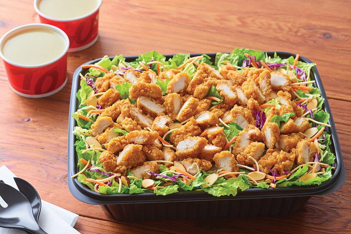 Oriental Chicken Salad - Serves 6-8 Image