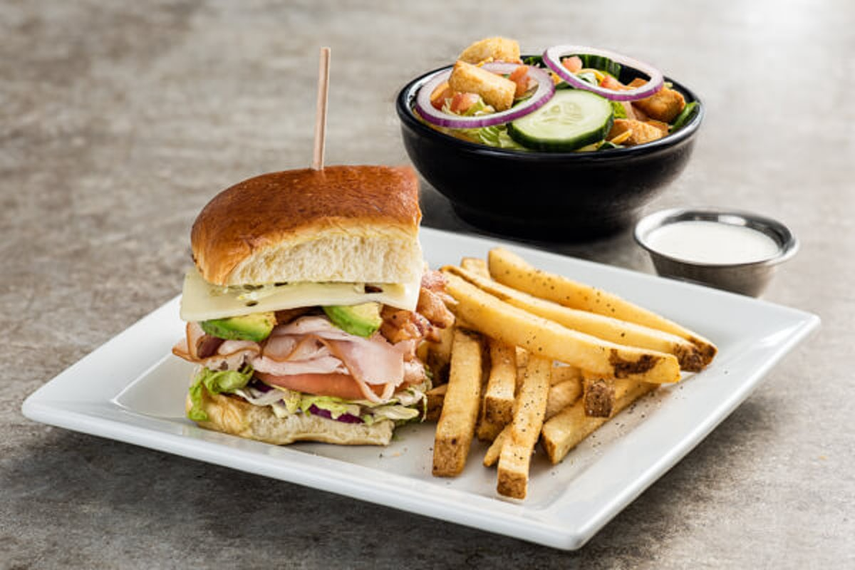 Lunch Combo - California Turkey Club