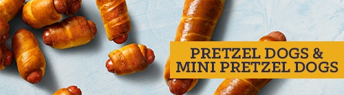 Pretzel Dogs & Mini Pretzel Dogs