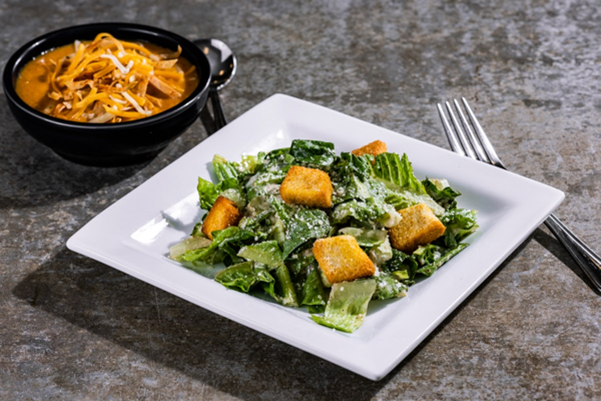Soup & Caesar Salad