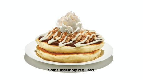 Cinnamon Toast Crunch™ Pancakes Side Order Image