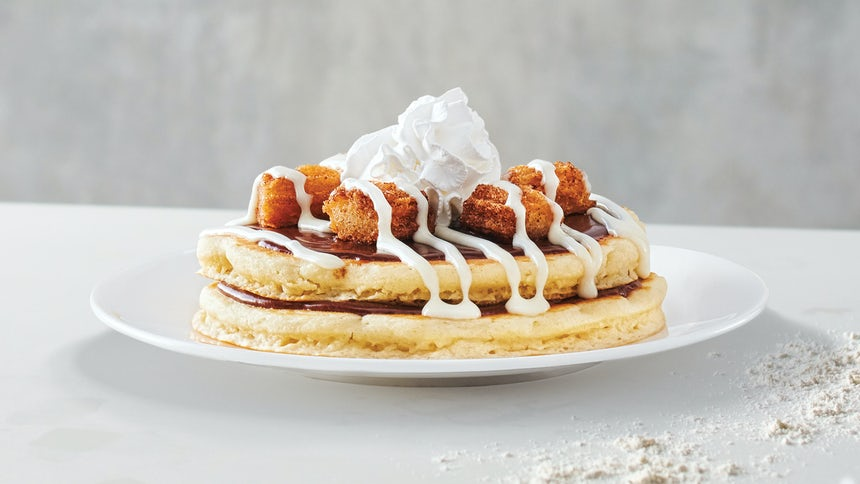 Mexican Churro Pancakes Side Order Image