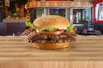 Bacon Double Hamburger