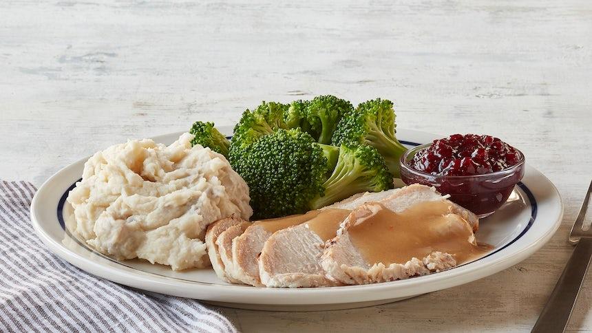 55+ Roasted Turkey Dinner  Image