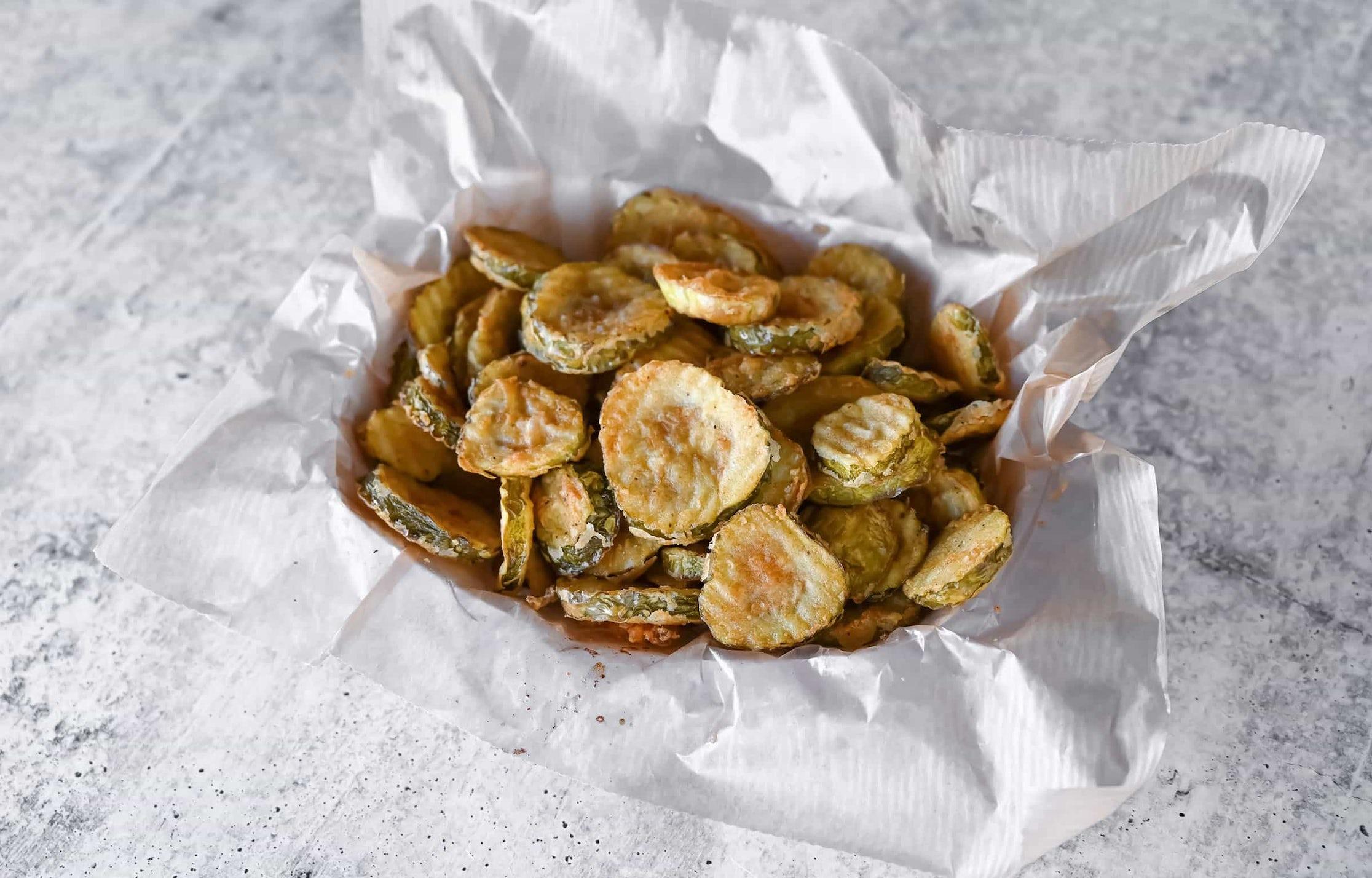 Basket of Fried Pickles