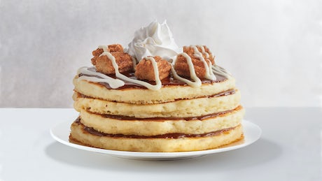 Mexican Churro Pancakes  Image