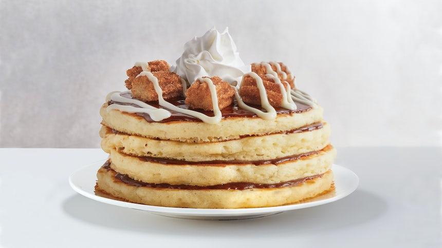 Mexican Churro Pancakes  Image