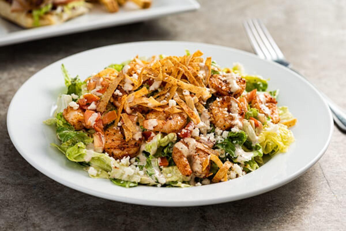 Southwest Shrimp Caesar Salad