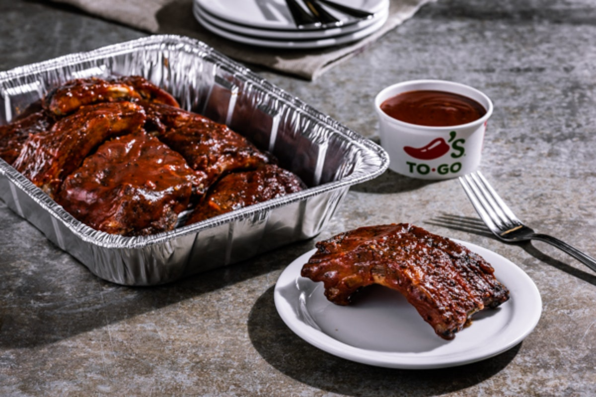 Party Platter Texas-Size Baby Back Ribs - Small