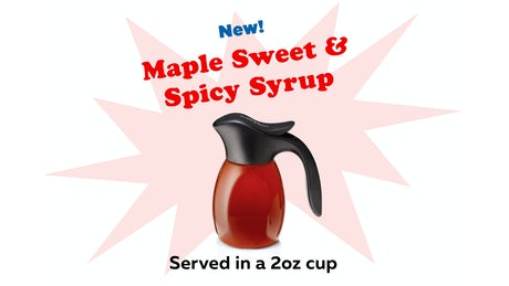 Maple Sweet & Spicy Syrup Image