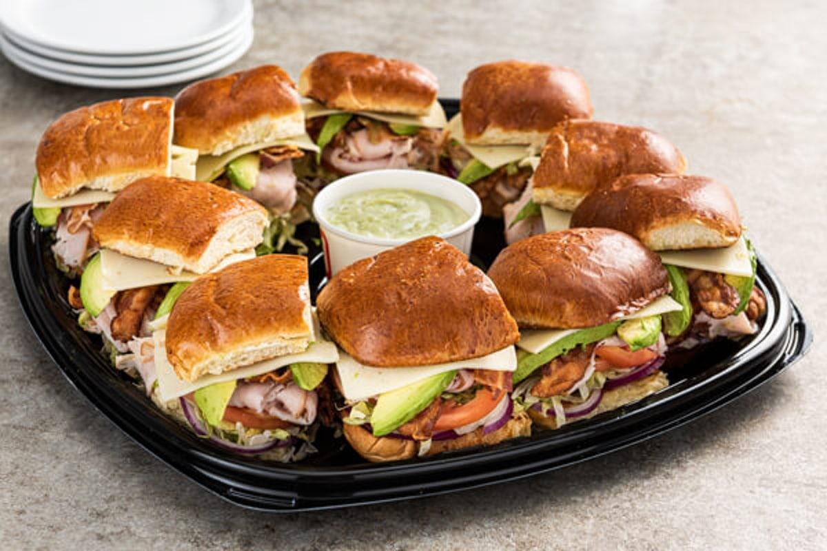 Party Platter California Turkey Club Toasted Sandwich - Large