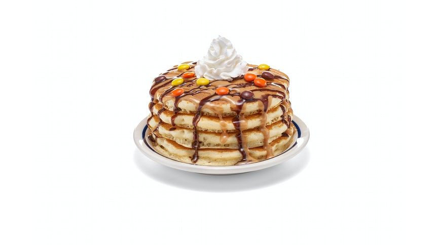NEW! REESE'S PIECES Pancakes - (Full Stack) Image