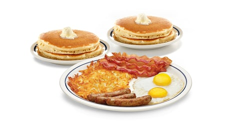 Bonus Pancakes Combo Image