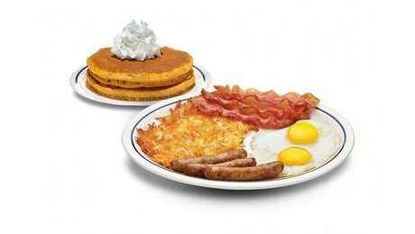 Build Your Seasonal Pancake Combo Image