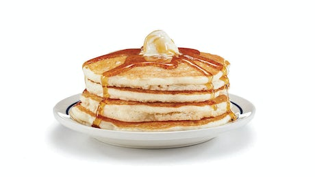 Original Gluten-Friendly Pancakes - Full Stack Image
