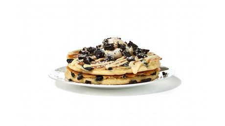 NEW! Milk 'n' Cookies Pancakes - (Side Order) Image