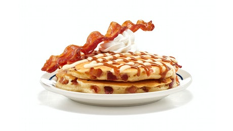 Candied Bacon Pancakes - (Side Order) Image