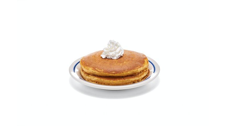 Pumpkin Spice Pancakes - (Short Stack) Image