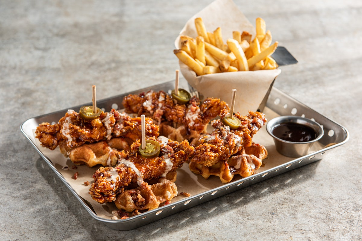Honey-Chipotle Crispers® & Waffles