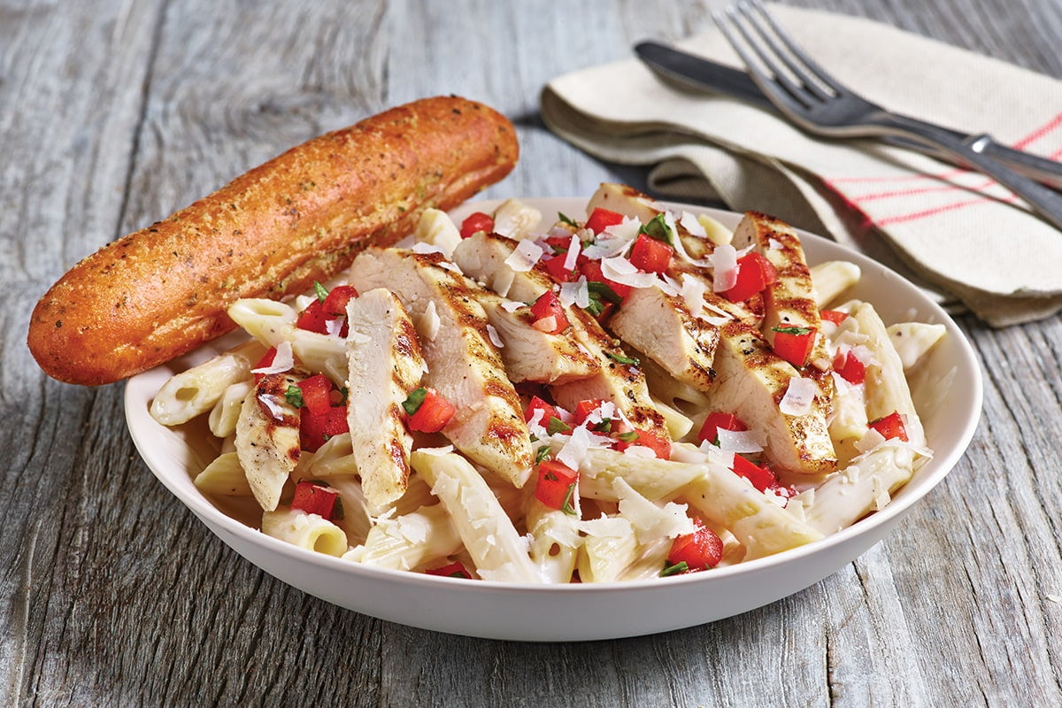 Three-Cheese Chicken Penne Image