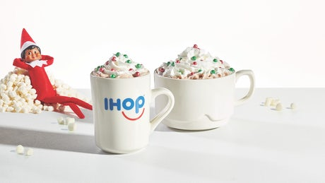 Merry Marshmallow Hot Chocolate Image