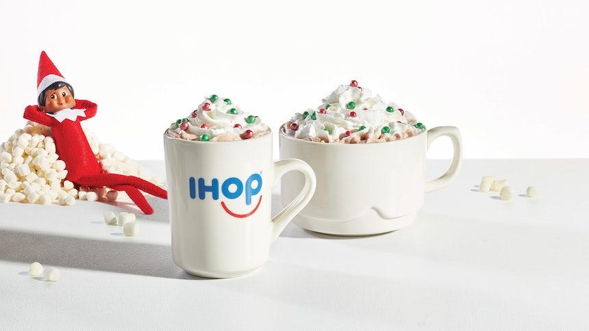 Merry Marshmallow Hot Chocolate Image
