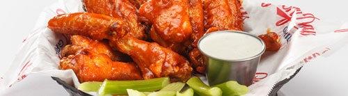 Gluten Free Wings, Apps & Salads