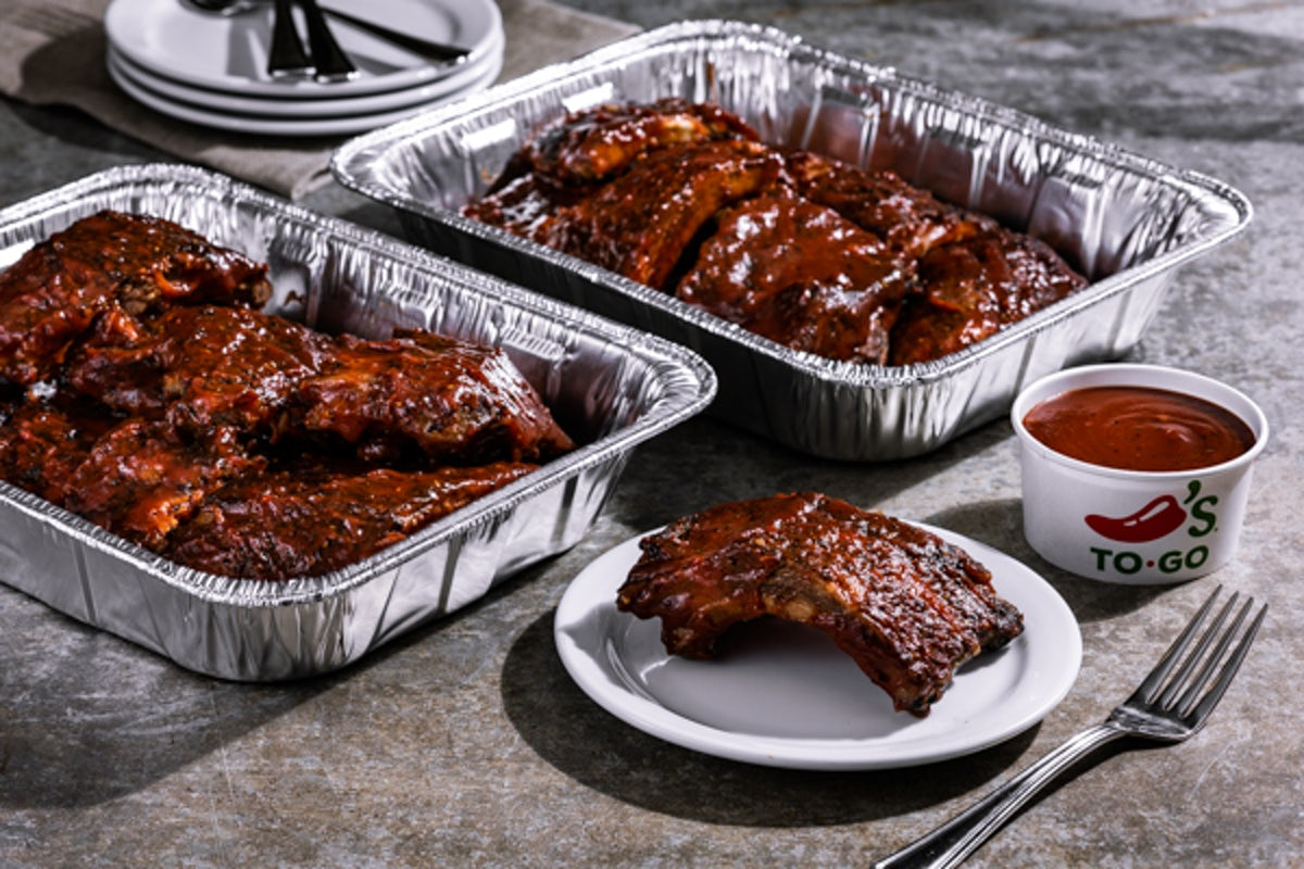 Party Platter Texas-Size Baby Back Ribs - Large