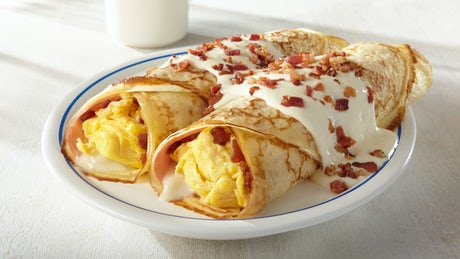 Classic Breakfast Crepes Image