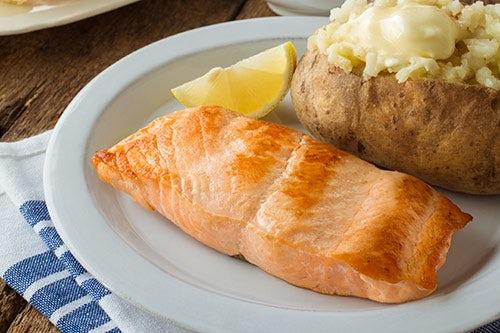Bob Evans Menu Grilled Salmon