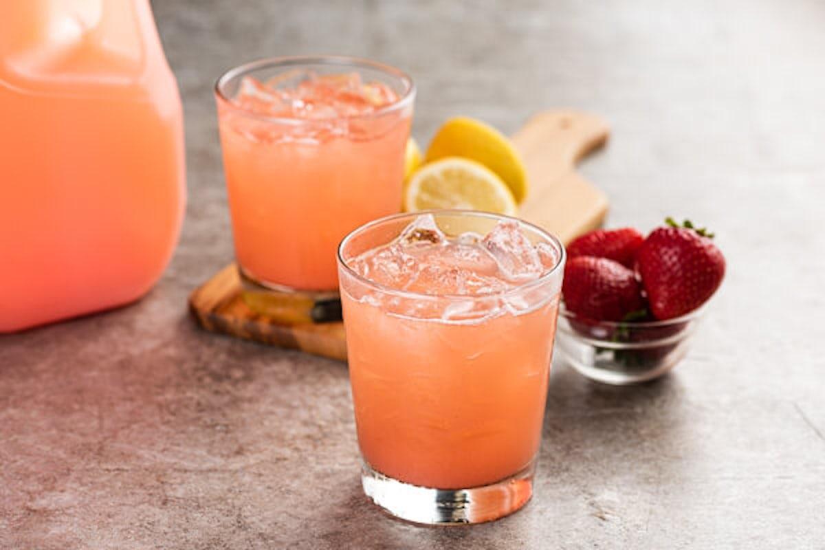 Gallon of Strawberry Lemonade