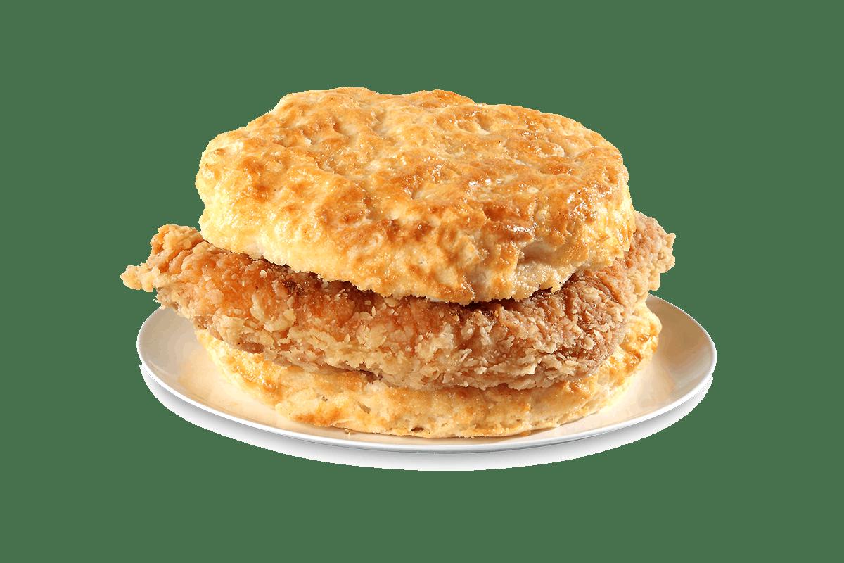Cajun Chicken Filet Biscuit