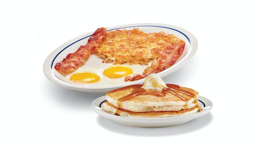 Original Gluten-Friendly Pancake Combo Image