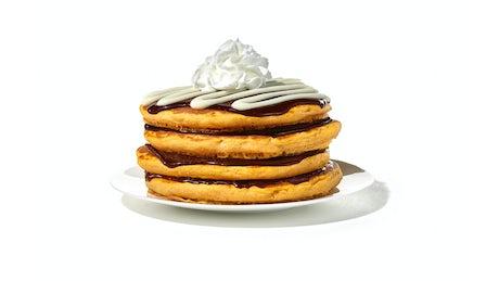 Pumpkin Cinn-A-Stack® Pancakes - (Full Stack) Image
