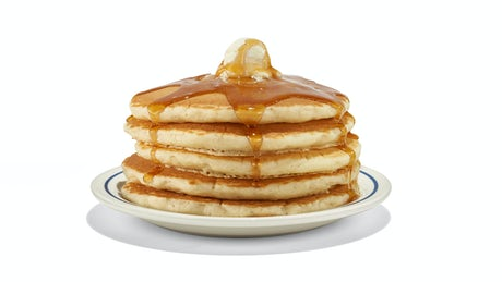 Original  Buttermilk Pancakes  - Full Stack Image