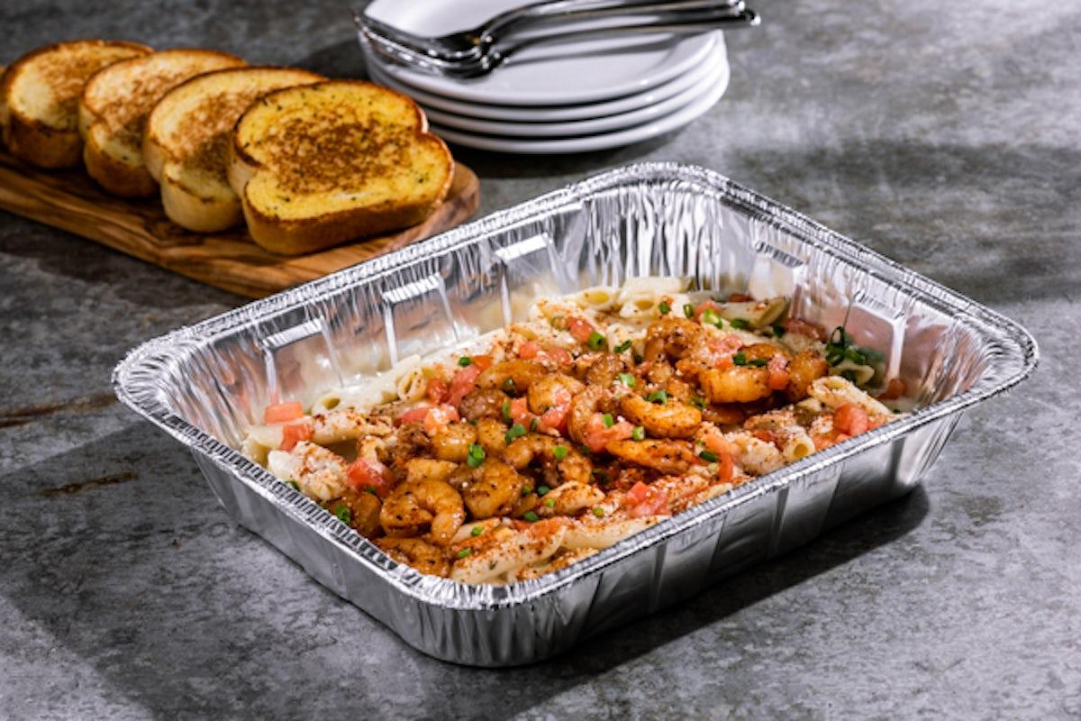 Shrimp Cajun Pasta Party Platter - Small