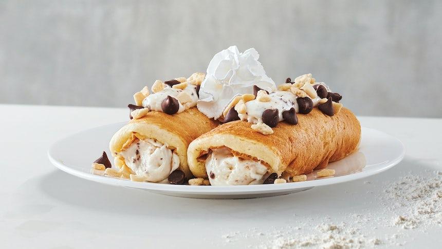 Italian Cannoli Pancakes Side Order Image