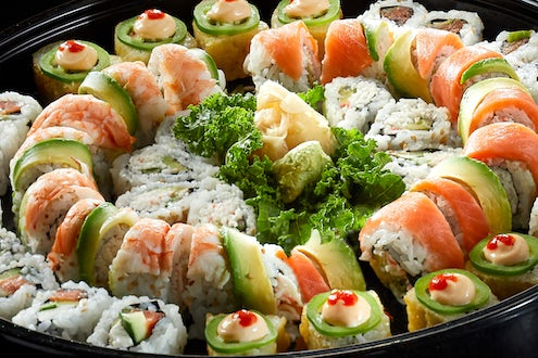 CATERING - SUSHI PLATTERS