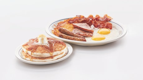 Original Gluten-Friendly Pancake Combo Image
