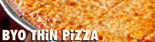 """BYO"" THIN CRUST PIZZA"