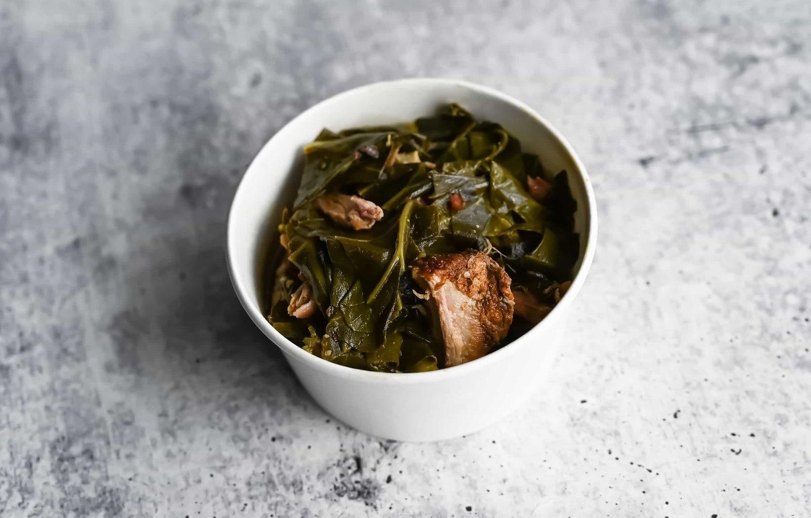 Collard Greens with Pork