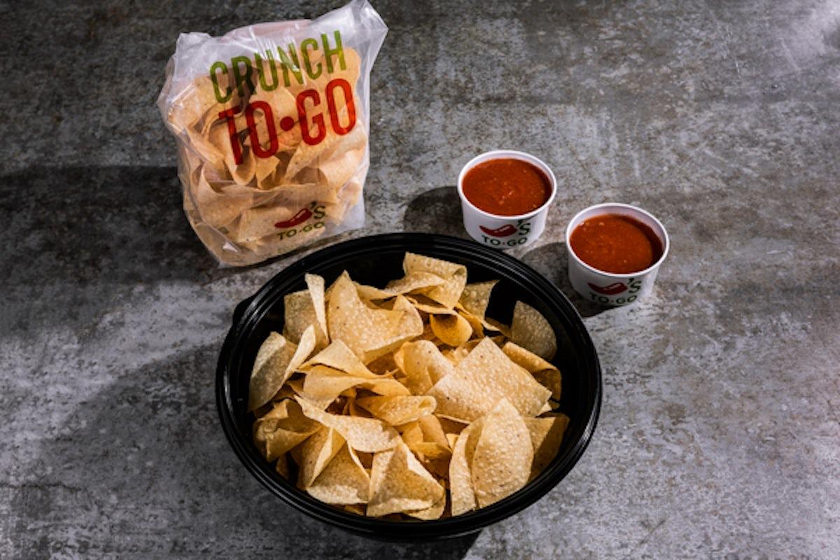 Party Platter Chips & Salsa - Large
