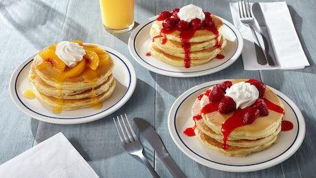 Rooty Tooty Fresh 'N Fruity® Pancakes  Image