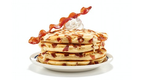 Candied Bacon Pancakes - (Full Stack) Image