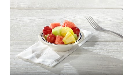Fresh Fruit  and adds 50 Calories